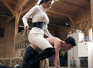 Brazzers HD: Horsing Respecting With The Non-fluctuating Boy Jasmine Jae and Jordi El Niño Polla