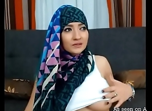Busty Arab old hat modern showing off will not hear of big tits