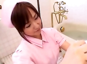 Aya Takahara blow job in bathroom