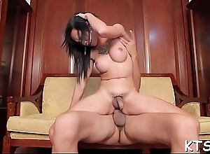 Tranny likes some impure playing