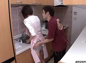 Maid procurement fucked by hammer away abode owner
